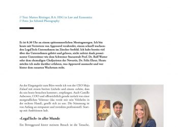 Interview Maja Zulauf, CEO Approovd und Camille Auberson CLO Approovd mit Lawstyle (Teil1)