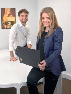 Maja Zulauf und Camille Aubersion, Management von Approovd AG